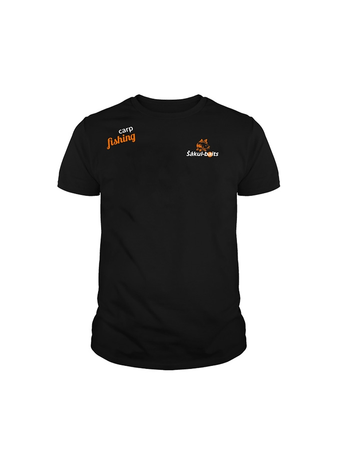 Černé triko Šákul - baits